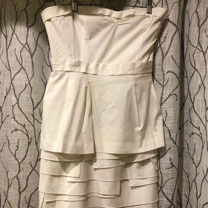 White BCBG MaxZaria Dress